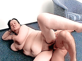Mature Plumper Takes Cock Filling