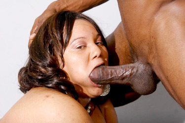 Ebony Plumper Gets Stuffed with a Huge Cock